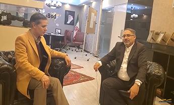 جلسه ممیزی با جناب هرندی در رابطه با مدیریت آداک و اعتماد در اصفهان